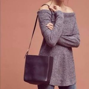 Anthro Off the Shoulder Sweater
